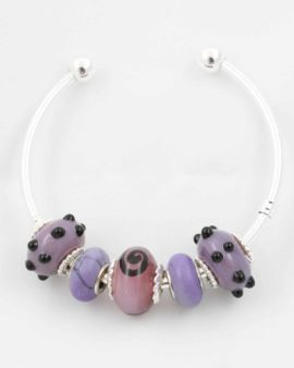 European beads purple