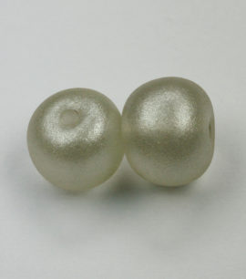 enamel glass bead clear