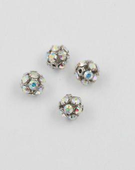 Swarovski ball shape 8mm crystal AB