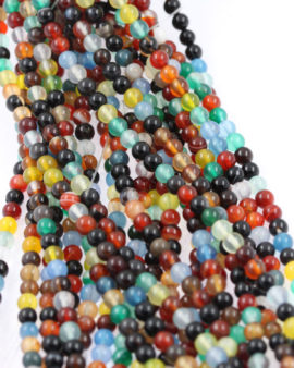 mix agate beads