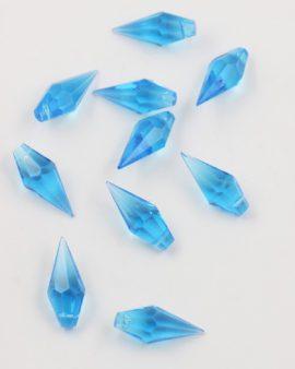 pointed tear drop pendant