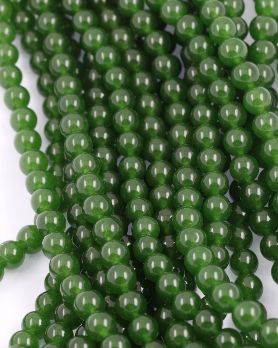 in diy making beads strand mm malachite shape for natural stone bracelet jewelry wholesale item round green from synthesis