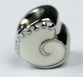 Pandora Style - Heart Shape enamel