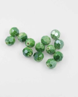 Round faceted beads 10mm. Sold per pack of 20