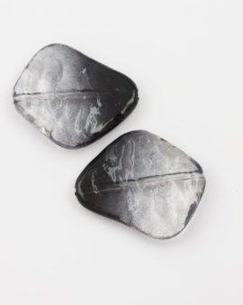resin bead irregular shape black