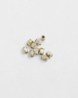 sterling faceted spacer