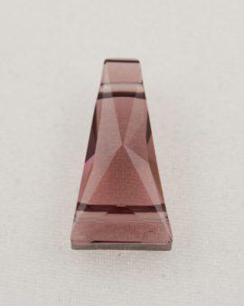 swarovski crystal keystone beads burgundy