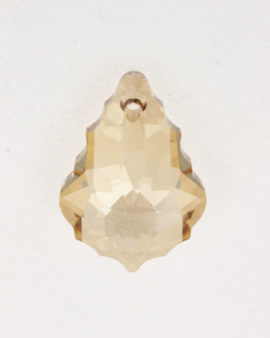 swarovski crystal baroque pendant light colorado topaz