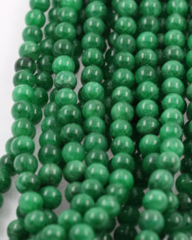 jasper beads emerald