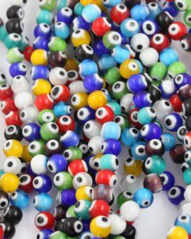 evil eyes beads 8mm