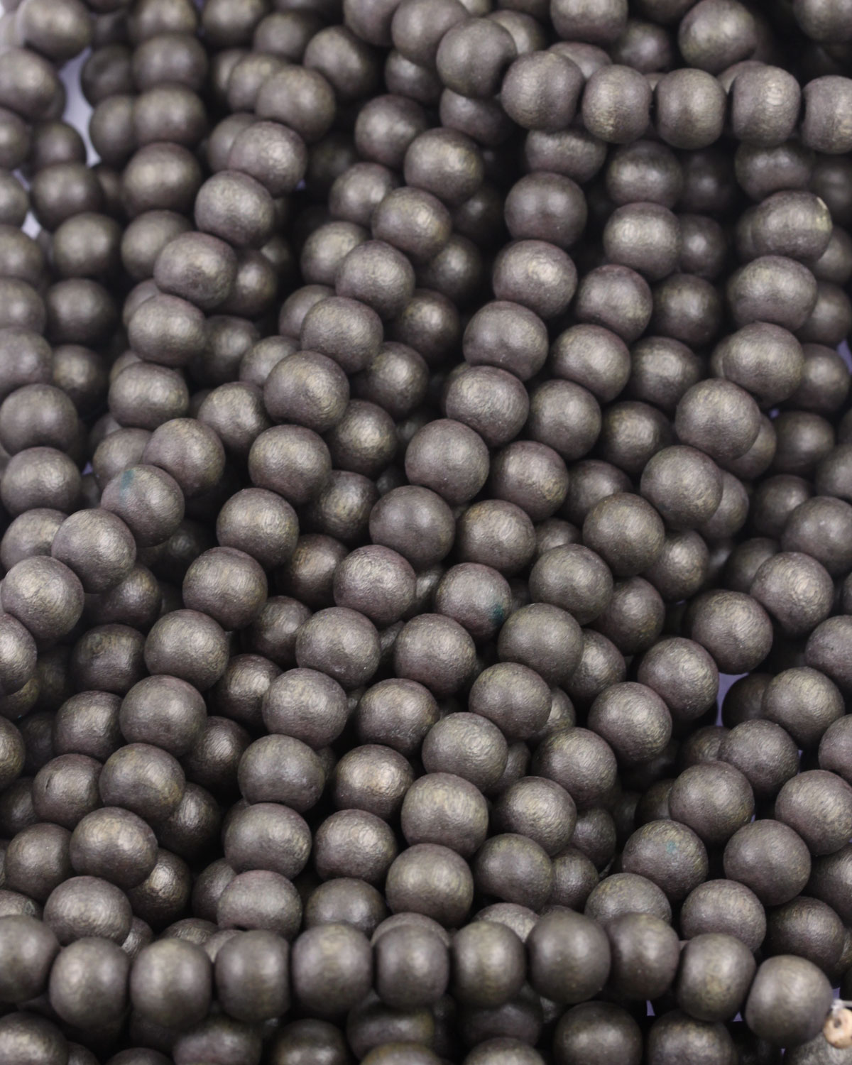 wooden beads 8mm brown