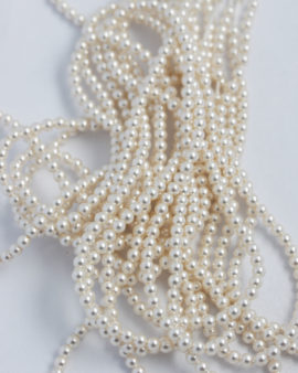 swarovski crystal pearls 3mm white
