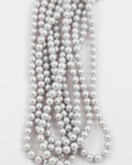 swarovski crystal pearl 4mm iridescent dove grey