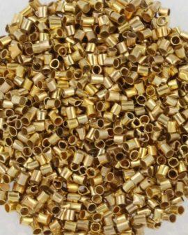 crimp tubes gold