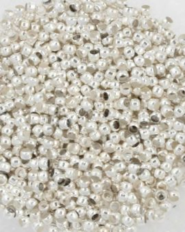 Crimp bead,1.5 mm. Sold per pack of 10 gm