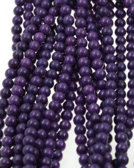 calcite beads purple
