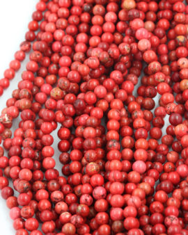 howlite 6mm red