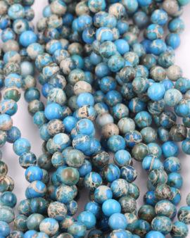 imperial jasper 8mm turquoise