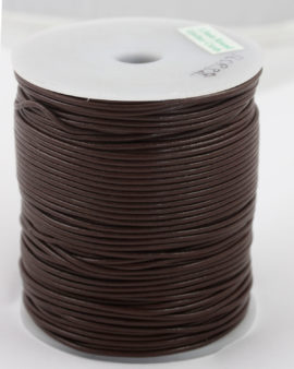 leather cord 1.5mm brown