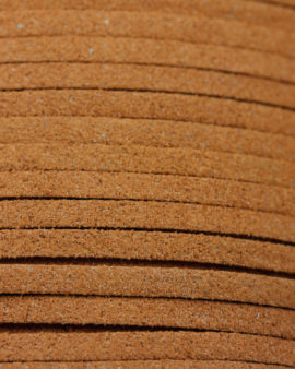 Cord, Imitation Suede thong, 3mm. Sold per 10 metres