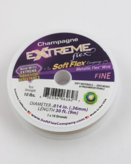 extreme flex wire champagne fine