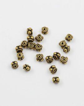 bubbles spacer antique gold