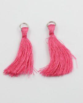 cotton tassel pink 5cm