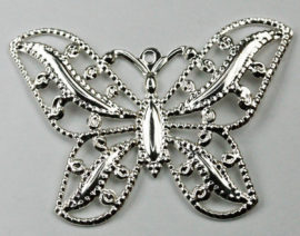 Butterfly Pendant - Sold by the pack , 10 pieces per pack