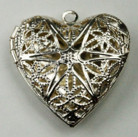 25 x 25 mm Locket pendant - Sold by the Piece