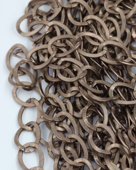 aluminium chain antique copper