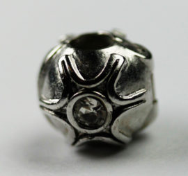 Pandora Style - Bead Stopper with Crystal chatons