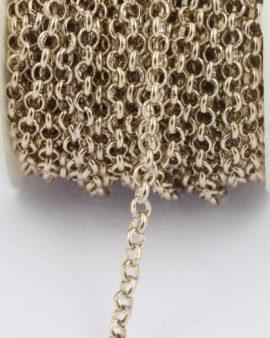 Belcher chain 4.5mm champagne