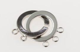 Three strand ring catch
