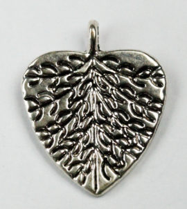 Embossed Leaf - Sold per packs of 10 ( 1=10 pieces )