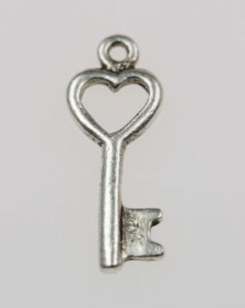 Key charm - Sold per pack of 20 pieces