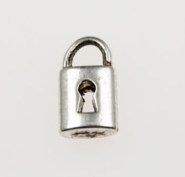 Lock charm - Sold per pack of 20 pieces