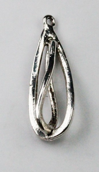 Twisted Metal Pendant - Sold per pack of 10 pieces