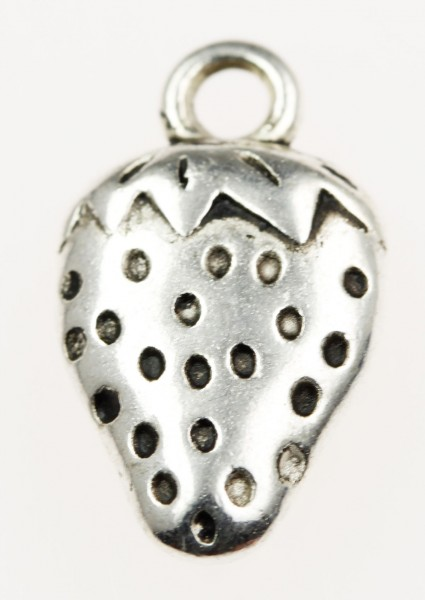 Strawberry charm - Sold in packs of 20 pieces