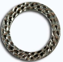 38 mm Metal ring - Sold per pack of 10 rings