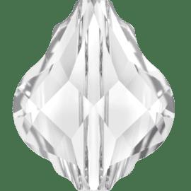 swarovski baroque bead 10mm crystal