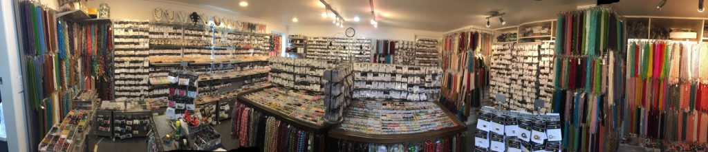 Auckland Beads showroom