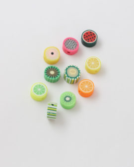 fimo fruit bead mix pack