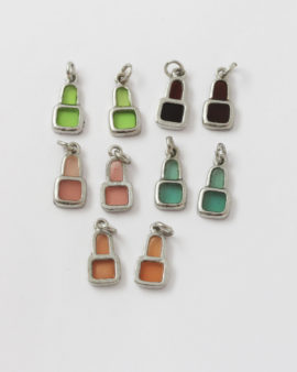 resin and metal drop charm mix pack
