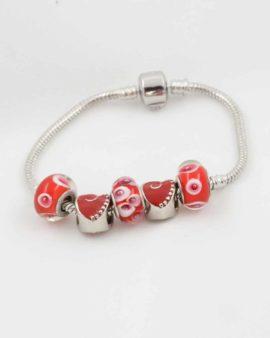 European beads red