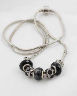 European beads black