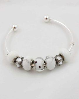 European beads white