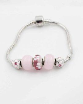 European beads pink