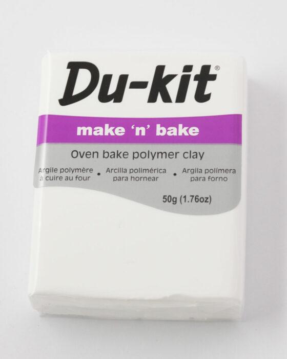 Du-Kit polymer clay 50g White