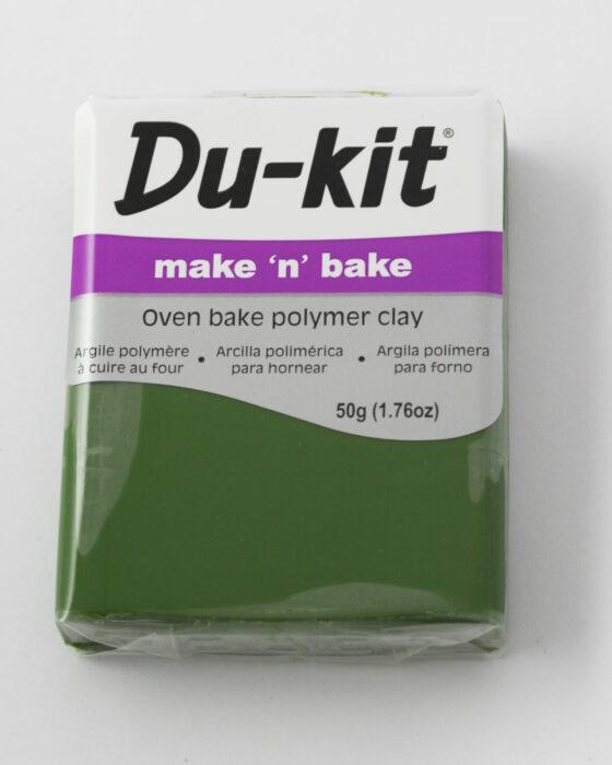 Du-Kit polymer clay 50g Leaf Green