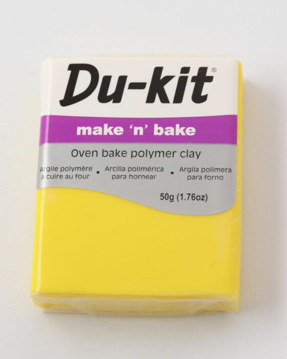 Du-Kit polymer clay 50g Lemon
